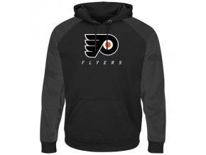 Mikina Philadelphia Flyers Majestic Penalty Shot Therma Base Hoodie