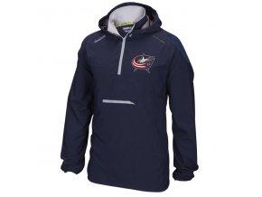 Bunda větrovka Columbus Blue Jackets CI Anorak Pullover Jacket