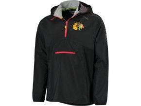 Bunda větrovka Chicago Blackhawks CI Anorak Pullover Jacket