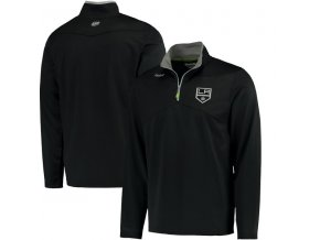 Mikina Los Angeles Kings Center Ice Quarter-Zip Baselayer