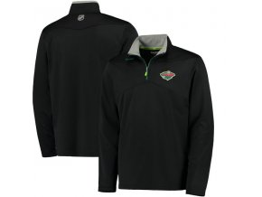 Mikina Minnesota Wild Center Ice Quarter-Zip Baselayer