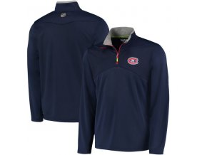 Mikina Montreal Canadiens Center Ice Quarter-Zip Baselayer