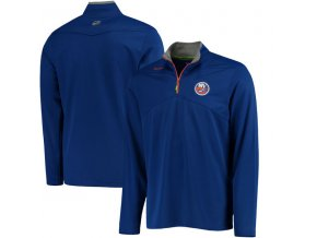 Mikina New York Islanders Center Ice Quarter-Zip Baselayer
