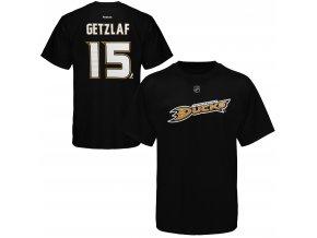 Dětské tričko Ryan Getzlaf Anaheim Ducks NHL Name & Number (Velikost Dětské L (11 - 12 let), Distribuce USA)