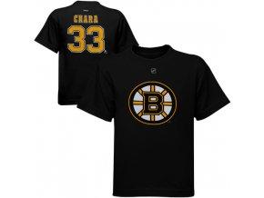Dětské tričko Zdeno Chára Boston Bruins NHL Name & Number (Velikost 4 roky, Distribuce USA)