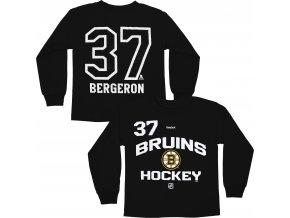 Dětské tričko Patrice Bergeron Boston Bruins NHL Name & Number (Velikost 4 roky, Distribuce USA)