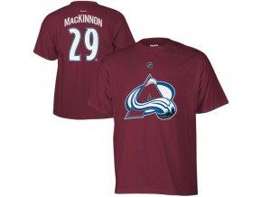 Dětské tričko Nathan MacKinnon Colorado Avalanche NHL Name & Number (Velikost 4 roky, Distribuce USA)
