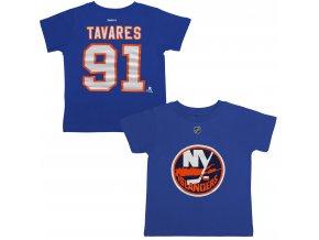 Dětské tričko John Tavares New York Islanders NHL Name & Number (Velikost 4 roky, Distribuce USA)