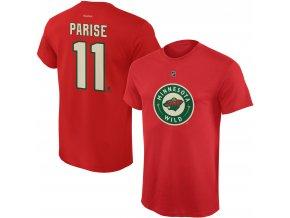 Dětské tričko Zach Parise Minnesota Wild NHL Name & Number (Velikost Dětské L (11 - 12 let), Distribuce USA)