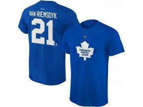 Dětské tričko James Van Riemsdyk Toronto Maple Leafs NHL Name & Number (Velikost Dětské L (11 - 12 let), Distribuce USA)