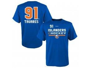 Dětské tričko John Tavares New York Islanders NHL Name & Number (Velikost Dětské L (11 - 12 let), Distribuce USA)