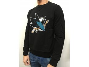 Mikina San Jose Sharks 47 Basic Logo