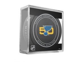 ST LOUIS 50TH ANNI GAME PUCK CUBE 2016 900x900