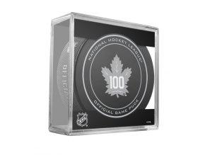 Puk Toronto Maple Leafs Game Replica 100TH ANNIVERSARY 2016-17