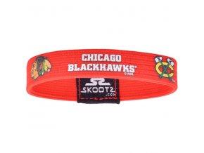 Náramek Chicago Blackhawks Skootz Bracelet