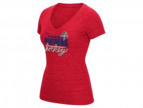 Dámské tričko Florida Panthers Reebok Laced Up