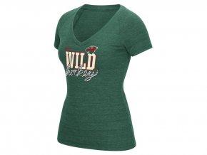 Dámské tričko Minnesota Wild Reebok Laced Up