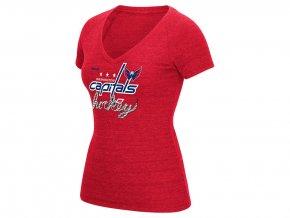 Dámské tričko Washington Capitals Reebok Laced Up