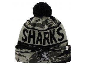 Kulich San Jose Sharks 47 Brand Tigertooth Knit