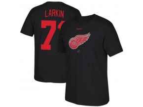 Tričko Dylan Larkin #71 Detroit Red Wings Reebok Center Ice TNT Reflect Logo
