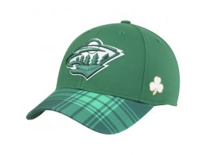 Kšiltovka Minnesota Wild St. Patrick's Day Flex