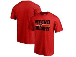 Tričko Calgary Flames Hometown Defend