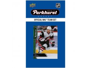 NHL hokejové karty Arizona Coyotes 2016-17 Team Card Set