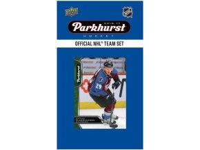 NHL hokejové karty Colorado Avalanche 2016-17 Team Card Set