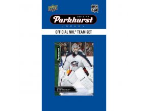 NHL hokejové karty Columbus Blue Jackets 2016-17 Team Card Set