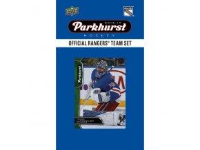 NHL hokejové karty New York Rangers 2016-17 Team Card Set