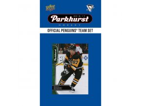 NHL hokejové karty Pittsburgh Penguins 2016-17 Team Card Set