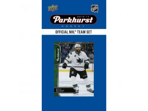 NHL hokejové karty San Jose Sharks 2016-17 Team Card Set
