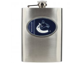 Placatka Vancouver Canucks Stainless Steel Flask