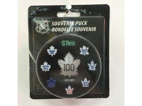 Puk Toronto Maple Leafs 100th Anniversary All Logo