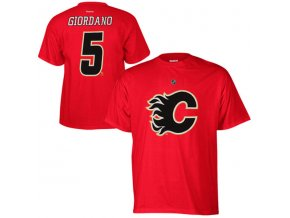 Tričko #5 Mark Girodano Calgary Flames