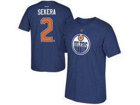 Tričko #2 Andrej Sekera Edmonton Oilers