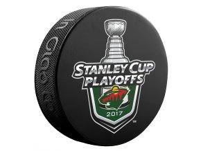 Puk Minnesota Wild 2017 Stanley Cup Playoffs Lock Up