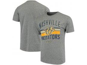 Tričko Nashville Predators CCM Classic Stripe Tri-Blend