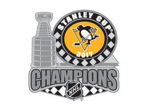 Odznak Pittsburgh Penguins 2017 Stanley Cup Champions Trophy Pin