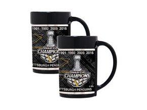 Sada hrnků Pittsburgh Penguins 2017 Stanley Cup Champions 15oz. Mug Set