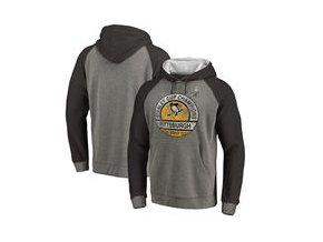 Mikina Pittsburgh Penguins Fanatics Branded 2017 Stanley Cup Champions Delay Tri-Blend Sweatshirt - Heather Gray