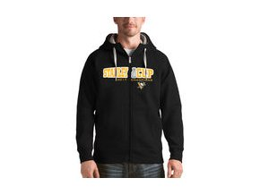 Mikina Pittsburgh Penguins Antigua 2017 Stanley Cup Champions Victory Full-Zip Hoodie - Black