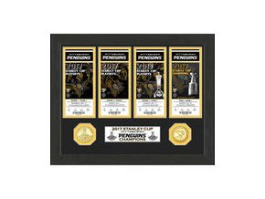 Pittsburgh Penguins Highland Mint 2017 Stanley Cup Champions Ticket Collection
