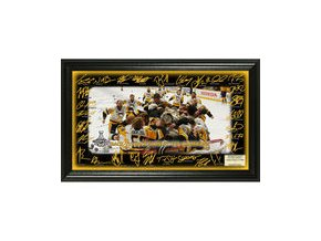 Pittsburgh Penguins Highland Mint 2017 Stanley Cup Champions Celebration Signature Rink