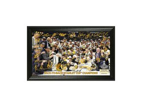 Pittsburgh Penguins Highland Mint 2017 Stanley Cup Champions Signature Rink