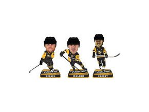 Set figurek Pittsburgh Penguins 2017 Stanley Cup Champions Mini Bighead Bobble 3-Pack
