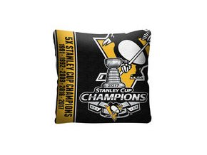 Polštář - Pittsburgh Penguins The Northwest Company 2017 Stanley Cup Champions Throw Pillow