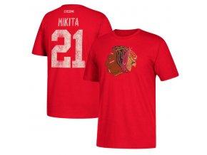 Tričko #21 Stan Mikita Chicago Blackhawks Retired