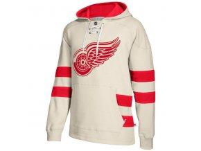 Mikina Detroit Red Wings 2017 CCM Jersey Pullover Hoodie White