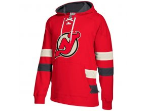 Mikina New Jersey Devils 2017 CCM Jersey Pullover Hoodie Red